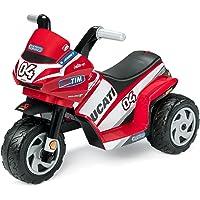 Peg Perego- Mini Ducati Trimoto Électrique, MD0005, Rouge