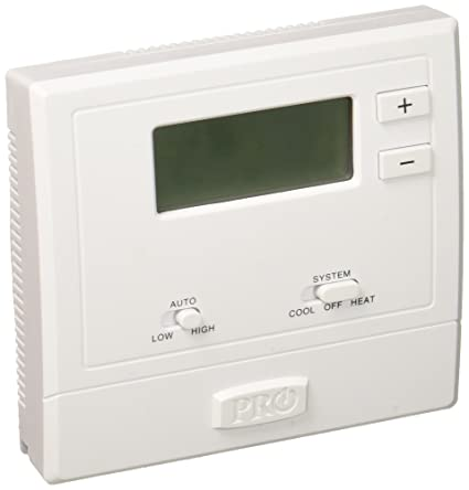 PRO1 IAQ T631W-2 Touchscreen Non-Programmable Electronic Thermostat