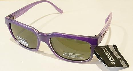 Polaroid Gafas de Sol polarizadas P 959 B Morado Lentes 100% UV Block Sunglasses Polarized