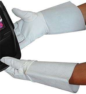 Al más puro estilo de juego de guantes de trabajo WGTIG Tig - manoplas de soldador