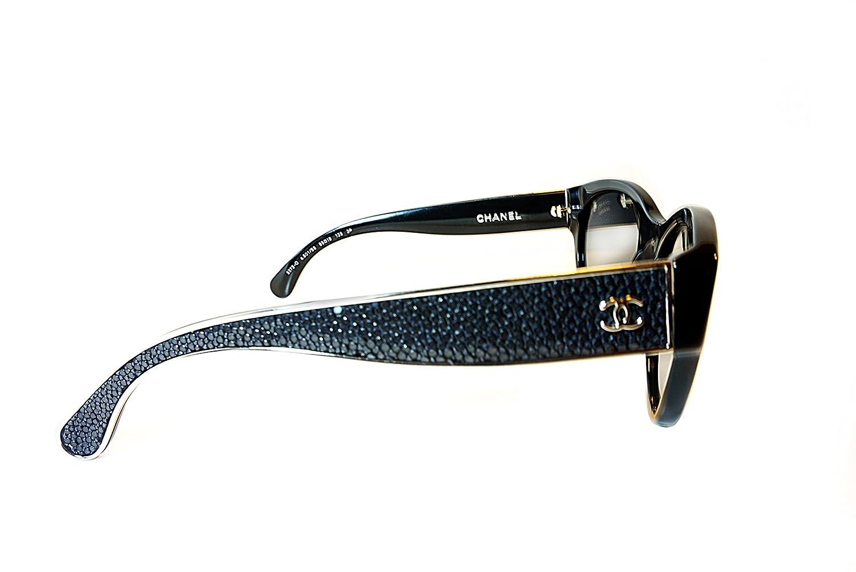 09d7af3d31 Chanel Designer Women s Sunglasses CH 5273-Q C501 S8 Black  Amazon.ca   Clothing   Accessories