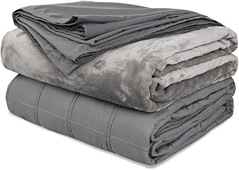 48x72 Duvet Cover, Bamboo Removable Cover Dark Gray GnO Duvet Covers