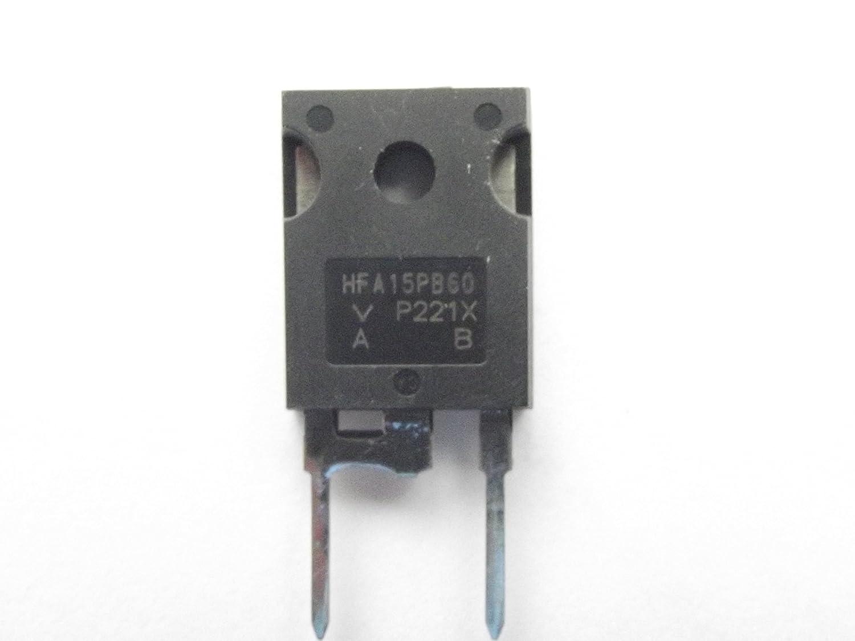 hfa15pb60 Vishay conmutació n de diodo 600 V 15 A 2Pin modificado To-247ac