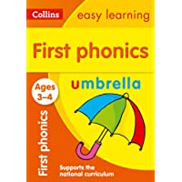 First Phonics Ages 3-4 (Collins Easy Learning Preschool)