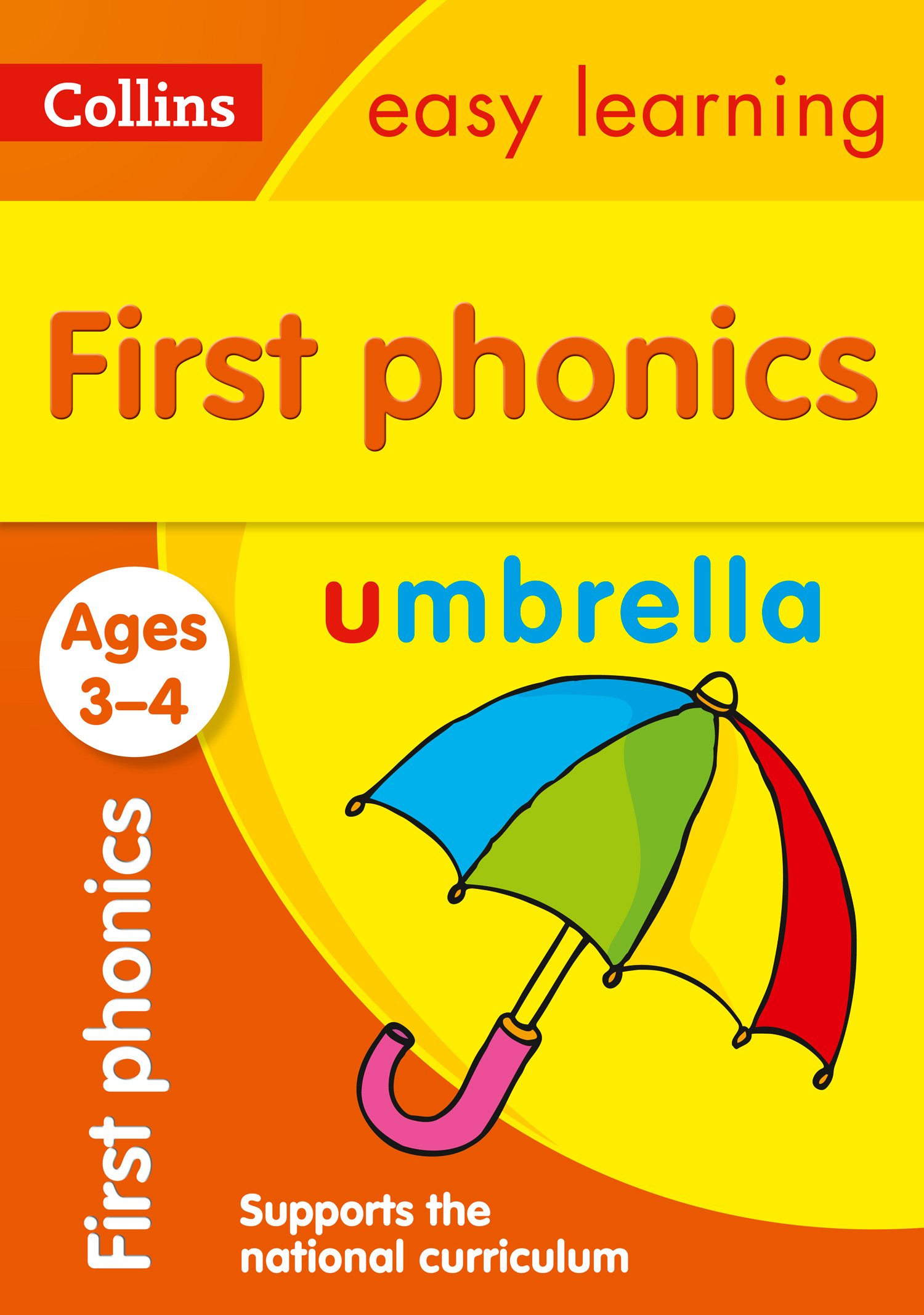 First Phonics Ages 3-4 Collins Easy Learning Preschool: Amazon.co.uk ...