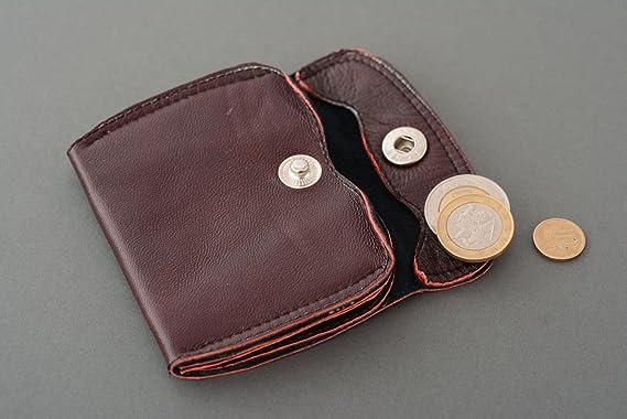 Monedero de cuero original: Amazon.es: Hogar
