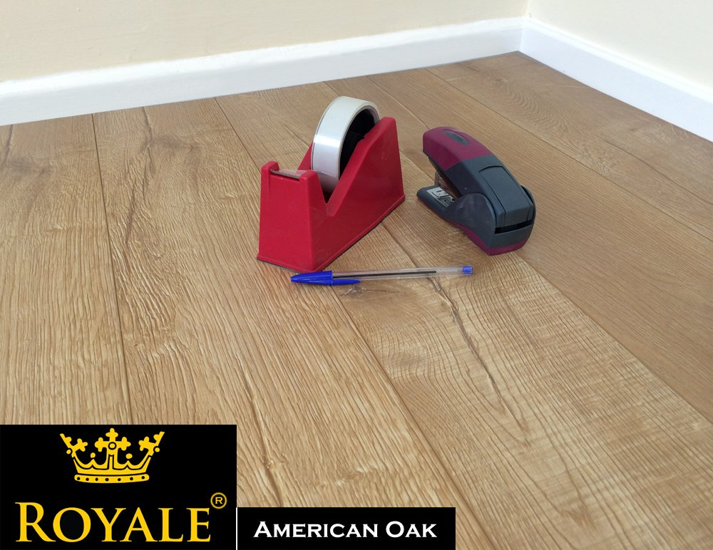 12mm Laminate Wood Flooring V Groove Ac5 Embossed Oak High