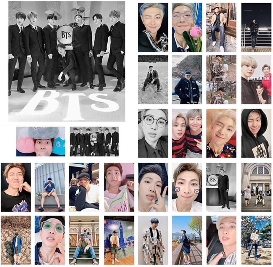 H01 Christ For Givek Kpop BTS Lomo Card Member Selfie Card Sticker Paper Postcard Set Gift for A.R.M.Y 30pcs
