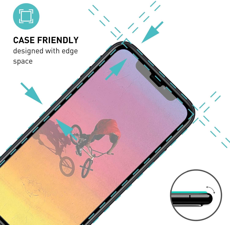 smartect Mattes Schutzglas kompatibel mit Apple iPhone XR [9x MATT ...