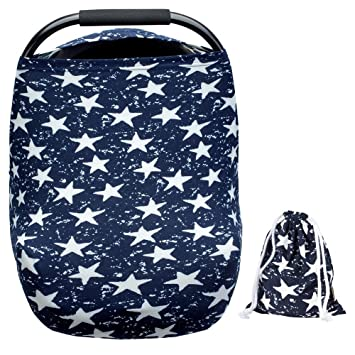 Arnzion Baby Car Seat Covers Boys Girls Versatile Stretchy Babies Cover Set Twinkle