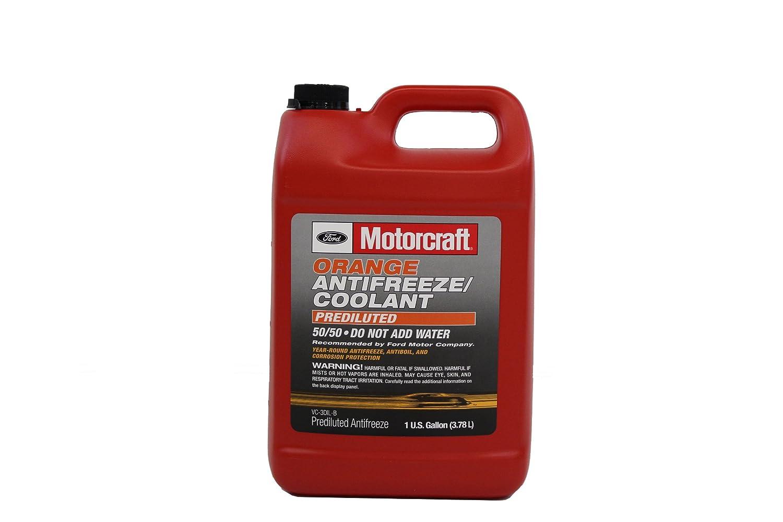 Amazon com genuine ford fluid vc 3dil b orange pre diluted antifreeze coolant 1 gallon automotive