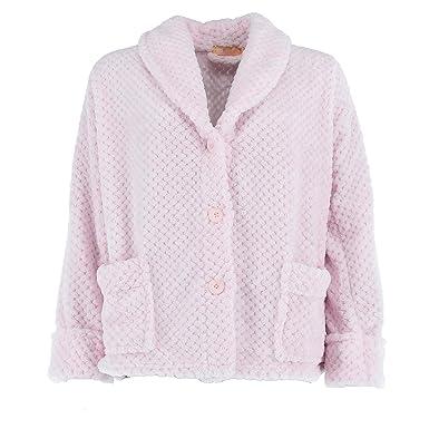 82153a0be85 La Cera Women s Plus Size Button Front Bed Coat at Amazon Women s ...