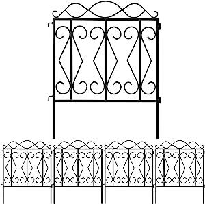 Amagabeli Decorative Garden Fence 32