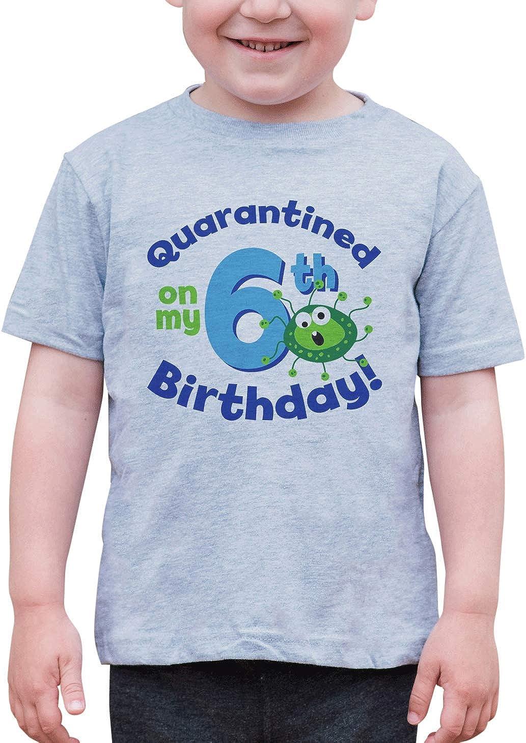 7 comió 9 ropa niños seis cumpleaños cuarentena germen camisa