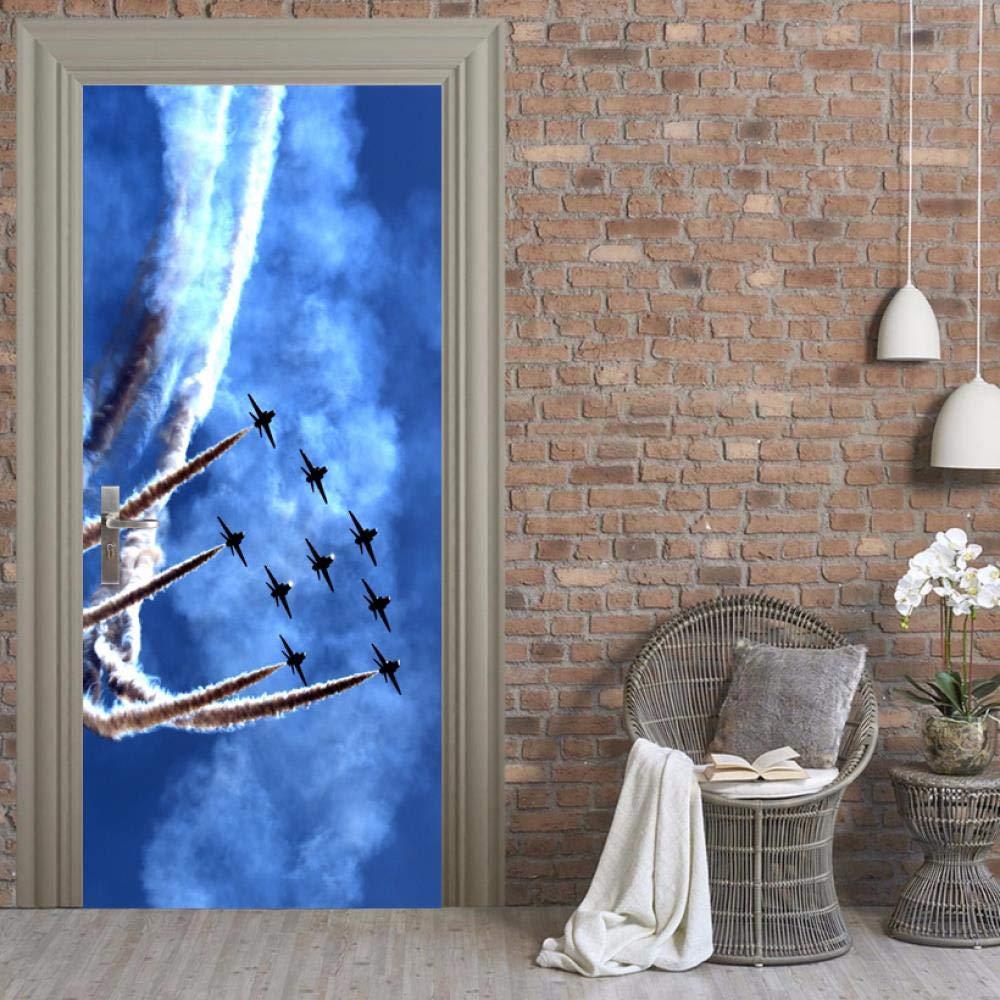 Blue Sky Efecto especial Fighter Cloud Military 77X200CM 3d ...