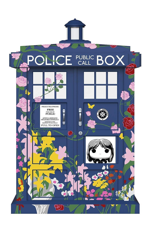 FunKo 33284 Pop-Vinyl: Doctor Who: 15 cm Tardis (Clara Memorial), Mehrfarbig