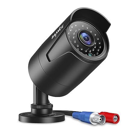 SANNCE 1080P Cámara de vigilancia 2MP CCTV IR-CUT 36 IR LED, 120 pies