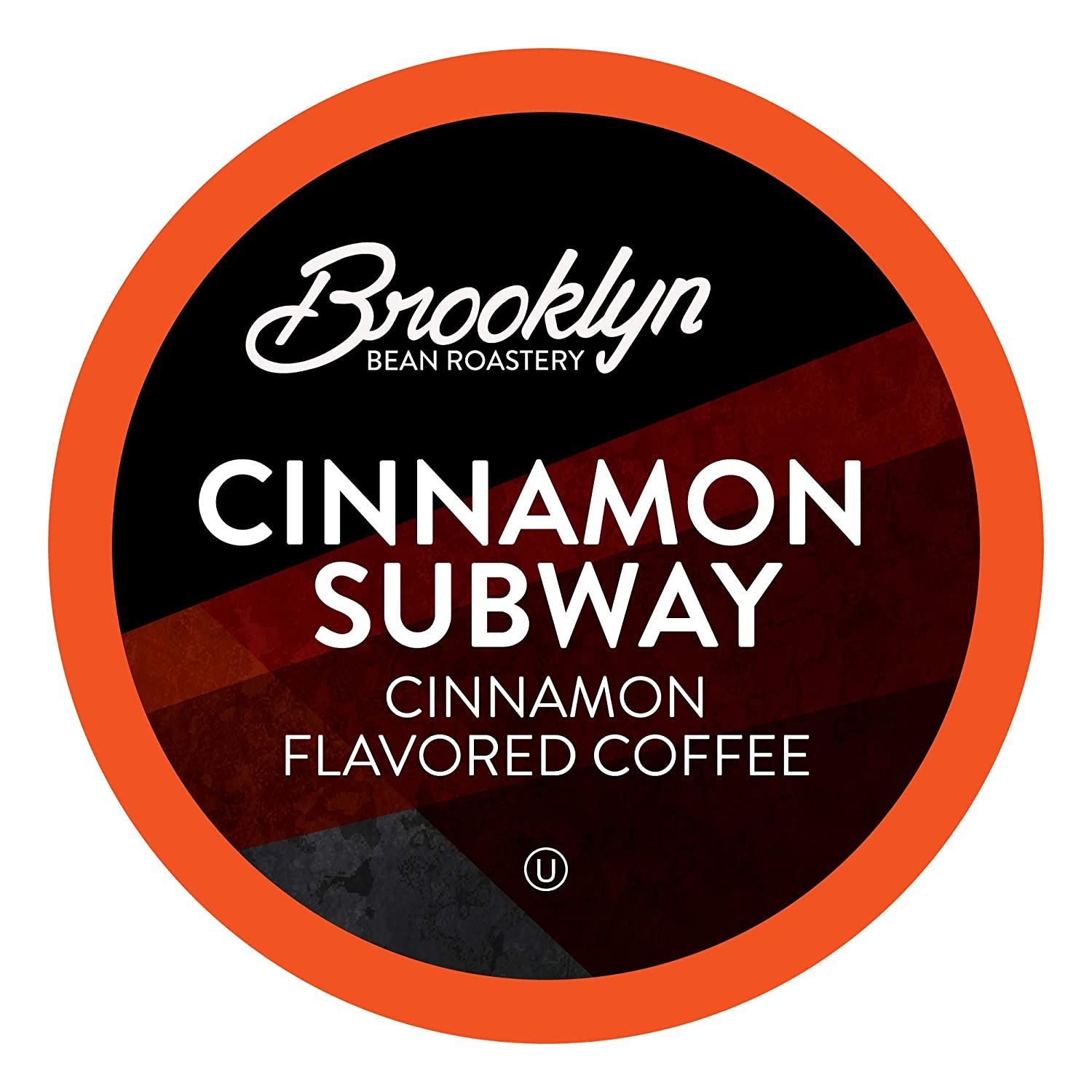 Brooklyn Beans Cinnamon Subway Coffee Pods, Compatible with 2.0 K-Cup Brewers, 40 Count