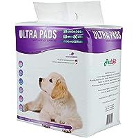 Tapete Higiênico Ultra Pads 80cmx60cm Aroma de Lavanda, 30 Unidades Petlike para Cães