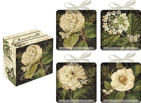 Chantrell Flower and Butterfly Ceramic Decorative Mini Plates Set of 4  sc 1 st  Amazon.com & Amazon.com | Chantrell Flower and Butterfly Ceramic Decorative Mini ...