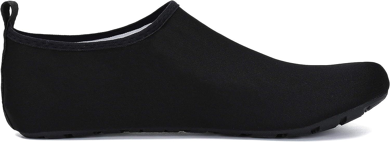 SAGUARO Chaussures de Sport Aquatique Chaussons de Bain Pieds Nus pour Femme Homme