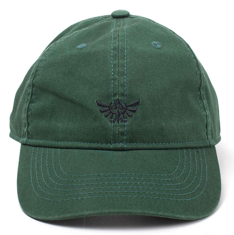 504221468 Amazon.com: Nintendo Zelda Baseball Cap Dad Cap Hyrule Crest ...