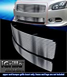 Stainless Steel eGrille Billet Grille Grill Combo For 2009-2014 Nissan Maxima