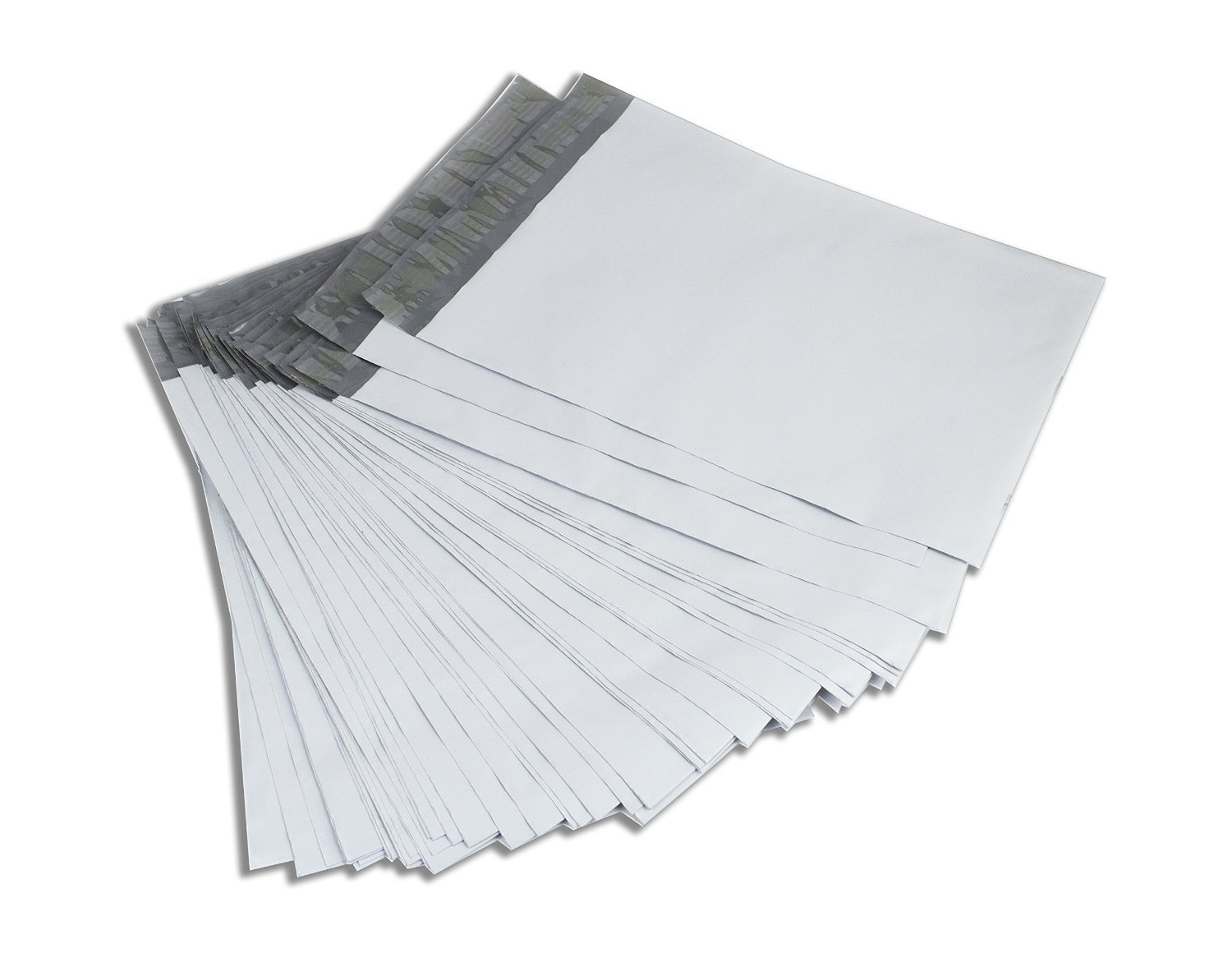 Premier Mailers #0000 4x6 4x6 Self Sealing Water / Tear / Puncture Resistant Poly Bags Envelopes Mailers 2.5mil (25 Pack)