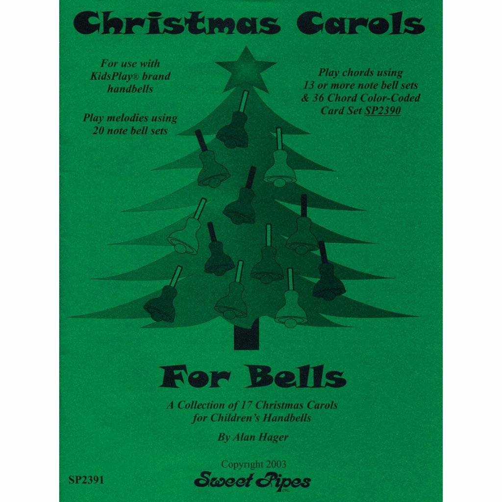 Hager Christmas Carols for Bells Song Book (17 Carols; All Ages) Westco