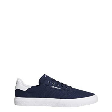 adidas 3mc Mens Casual Trainers in Navy White - 7 UK