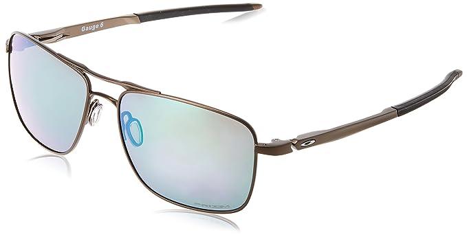 2879026b67 Oakley Gauge 6 Oo6038 603803 57 Mm Montures de lunettes Homme, Argenté  (Plateado)