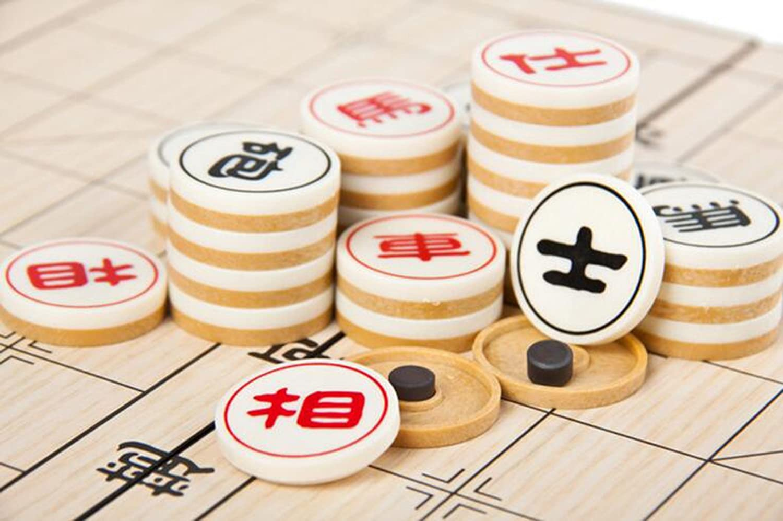 T Tocas Medium Scacchiera 250 x 250 x 20 mm Chinese Chess Xiangqi con magnetico Set da Viaggio TM