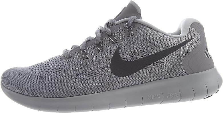 Nike Free Rn 2017, Zapatillas de Running para Hombre, Gris (Wolf Grey / Dark Grey / Pure Platinum / Off White), 40 EU: Amazon.es: Zapatos y complementos