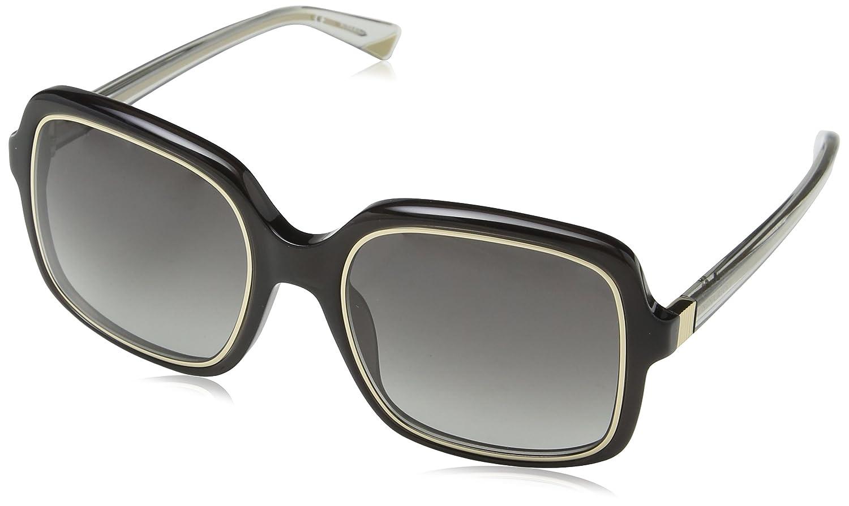 Nina Ricci SNR012-gafas de sol Mujer Gris Gris (SHINY ...