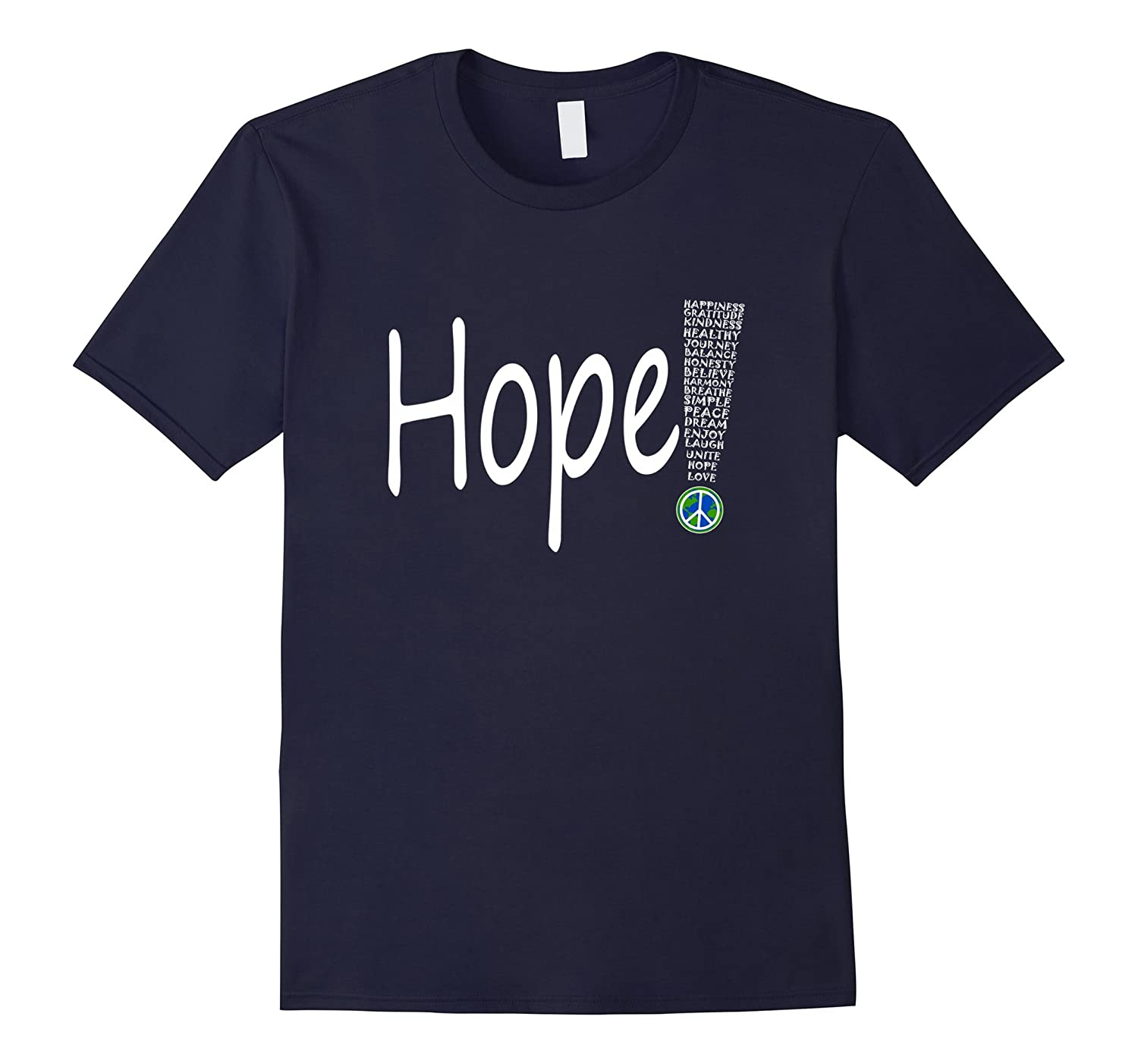 Inspirational Journey Tshirts Hope wht-BN