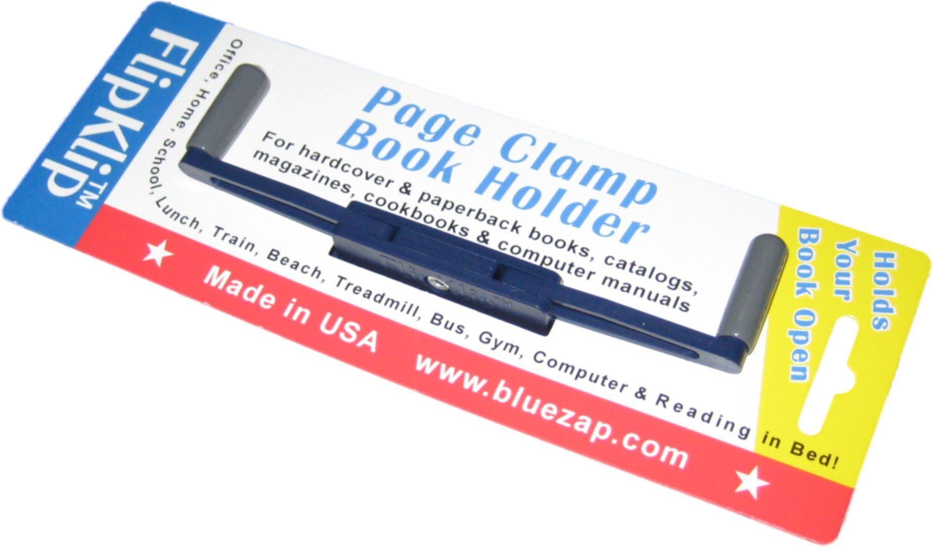 flipklip treadmill book holder dark blue 1pak itmarketplace