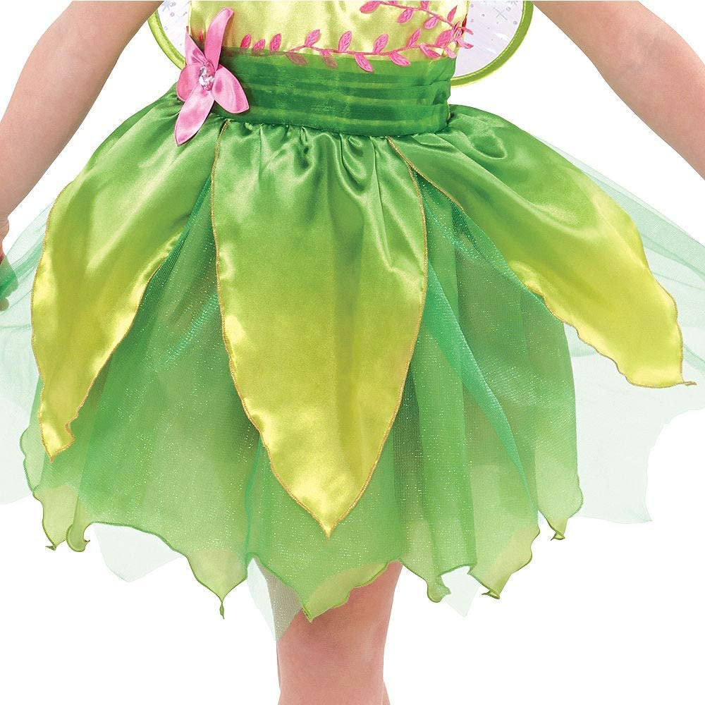 Suit Yourself Classic Tinkerbell Halloween Costume for Toddler Girls Includes Wings