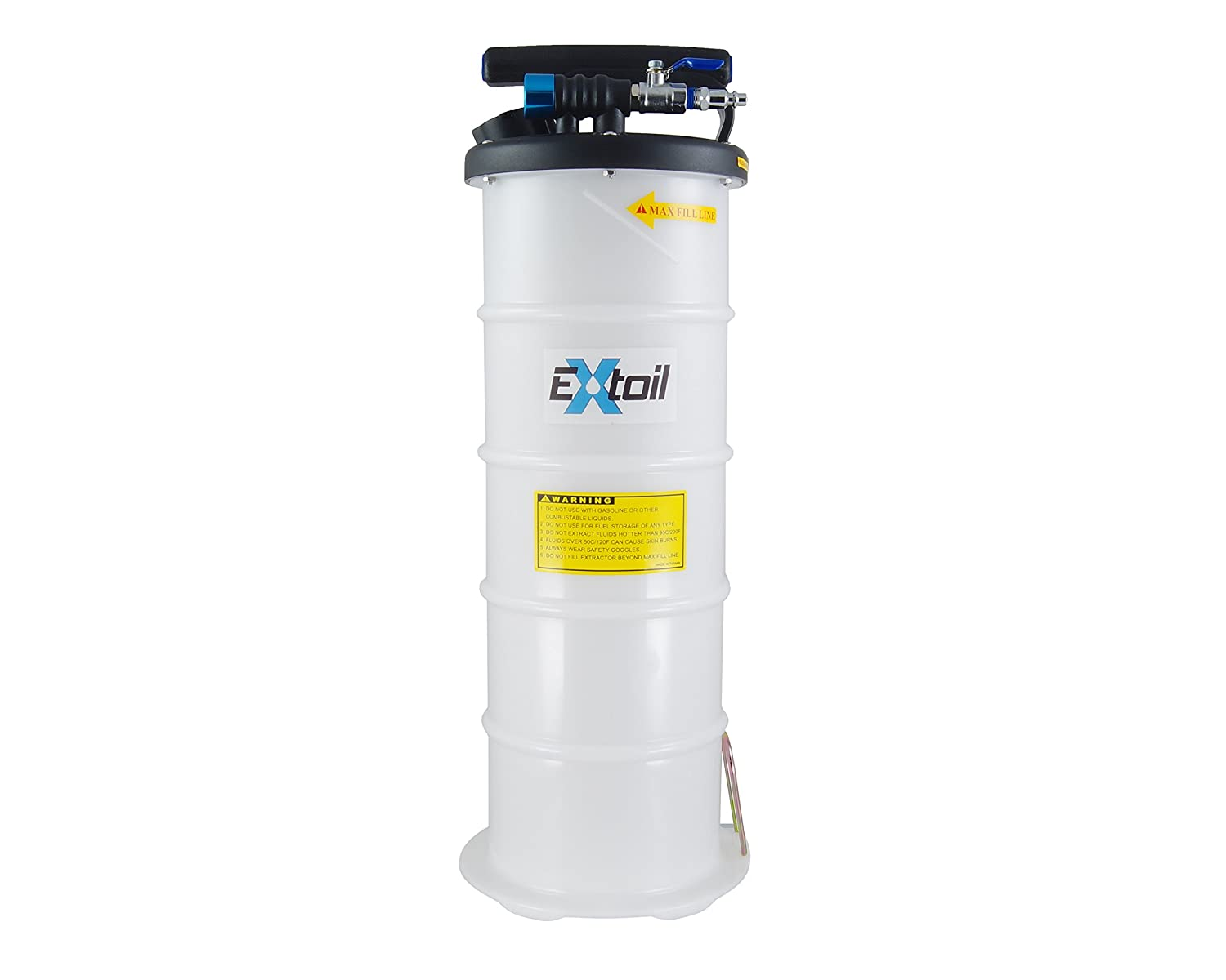 EXtoil 6 Liter Professional Manual//Pneumatic Oil Extractor