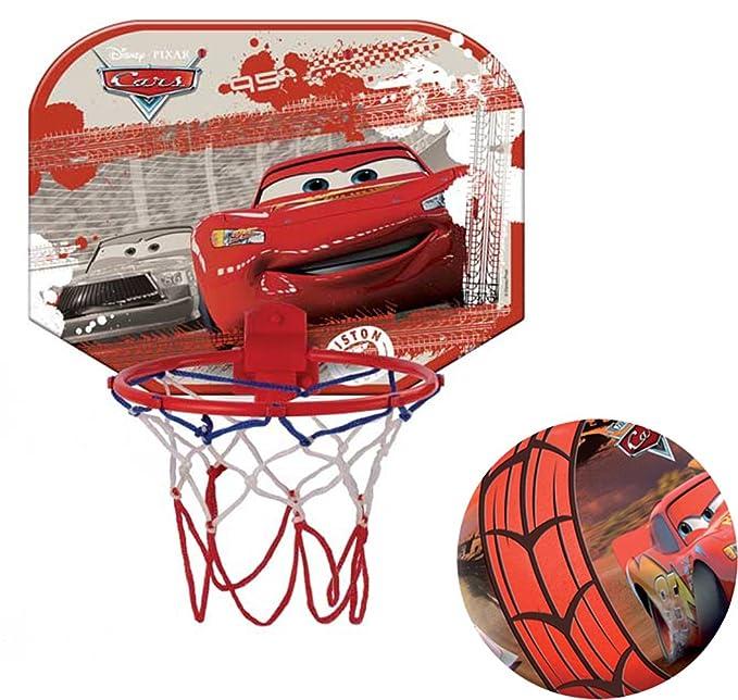 Mondo Disney Cars - Canasta pequeña de Baloncesto: Amazon.es ...
