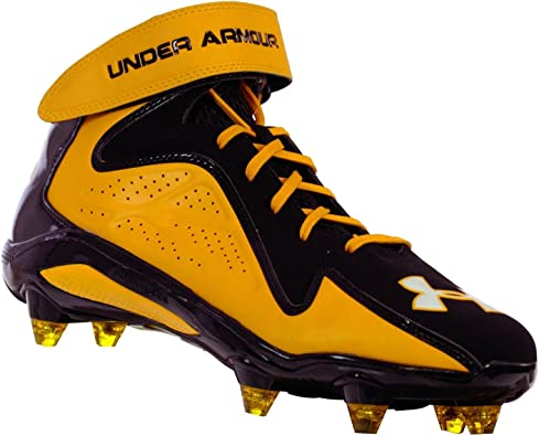 Under Armour Micro G Renegade MID Mens Football Shoe BKTNORWH 10