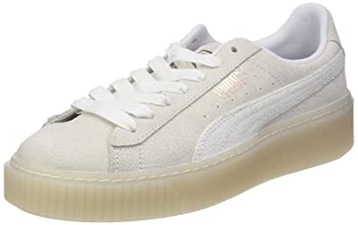 check out 14473 40ed4 Amazon.com | Puma Women's Suede Platform Artica WN's Low-Top ...