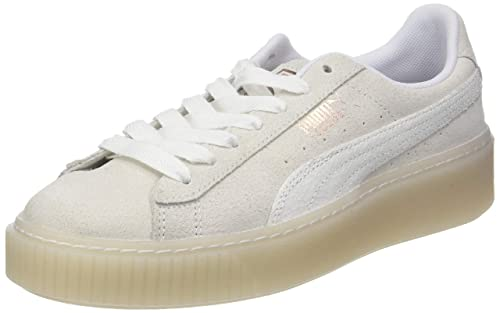 Amazon.com | Puma Womens Suede Platform Artica WNs Low-Top Sneakers, White (Puma White), 5.5 UK (38.5 EU) | Fashion Sneakers