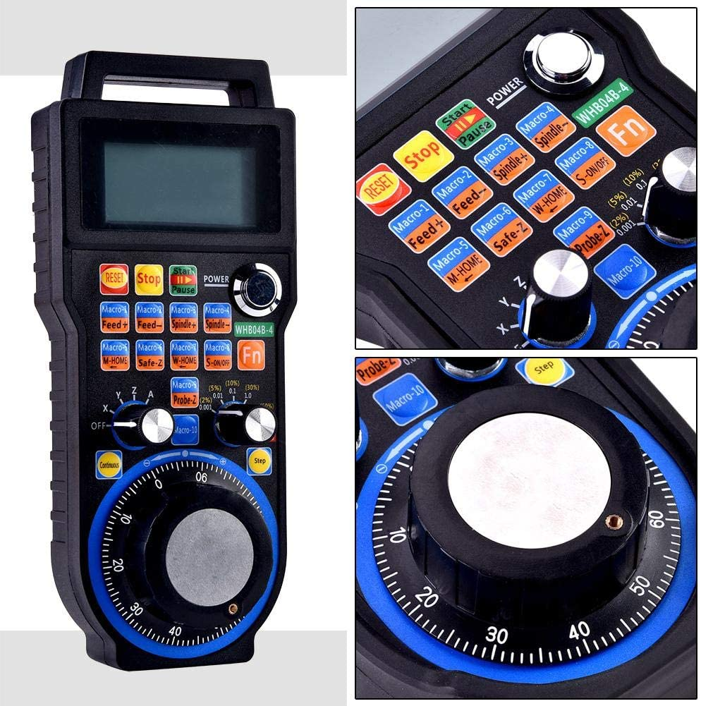 4-Axes CNC Handwheel Professional Protable Stable Wireless ...