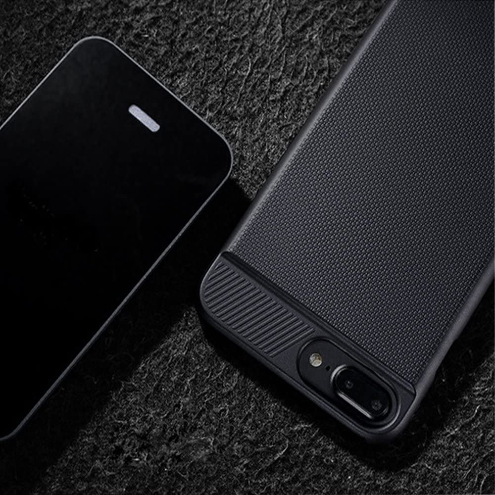Lokota Wireless Charger Charging Receiver Case for iPhone 6//6s//7//8 Slim Matte Protective Back Cover with Flexible Lightning Connector 4.7 Black