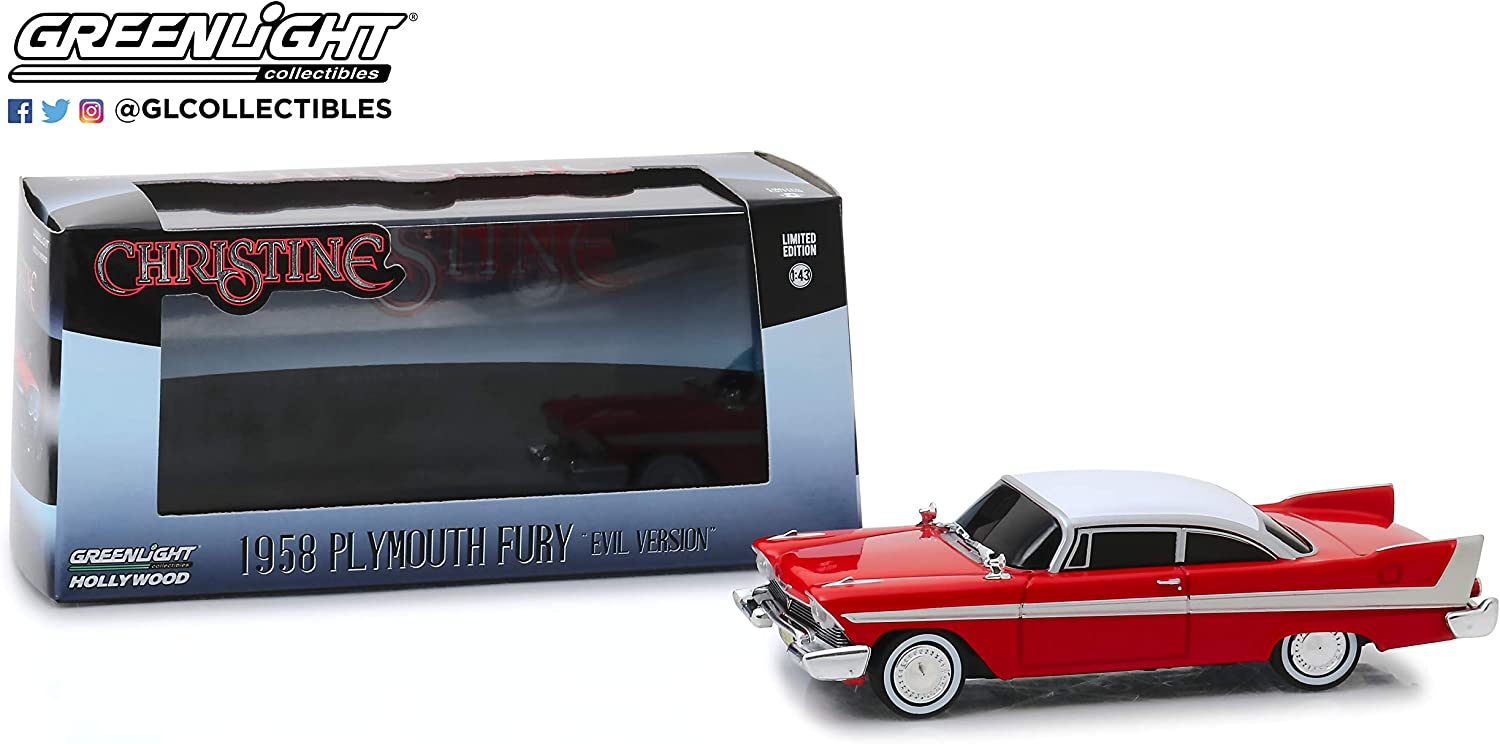 Greenlight Christine Evil Version 1958 Plymouth Fury 1:43 Scale 86575