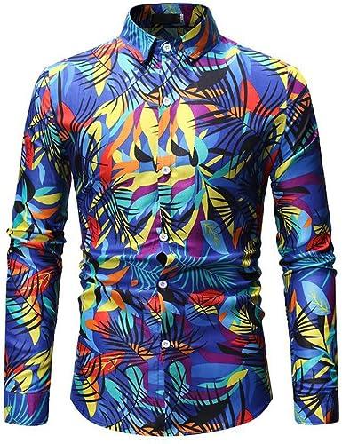 Poachers Camisas de Hombre Estampadas Camisas Hawaianas Hombre Camisas Hombre Manga Larga Tallas Grandes Camisas Hombre Verano Flores Camisetas Hombre: Amazon.es: Ropa y accesorios