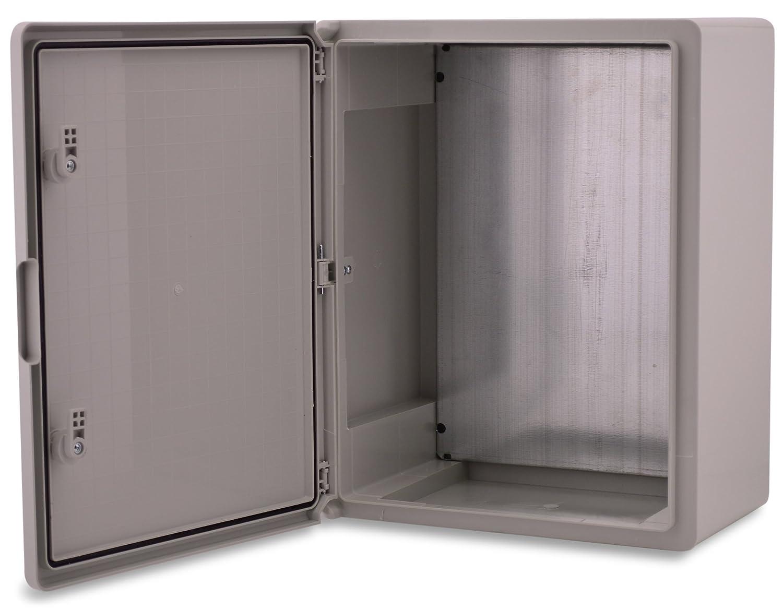 BOXEXPERT Boî tier mural 400x500x240mm IP 65 gris RAL7035 Boî tier de distribution d'armoire é lectrique