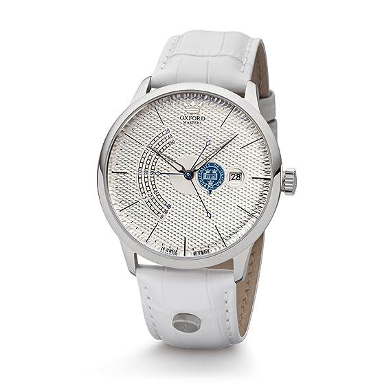 Reloj de Mujer automática Oxford masters acero-plateado: Amazon.es: Relojes