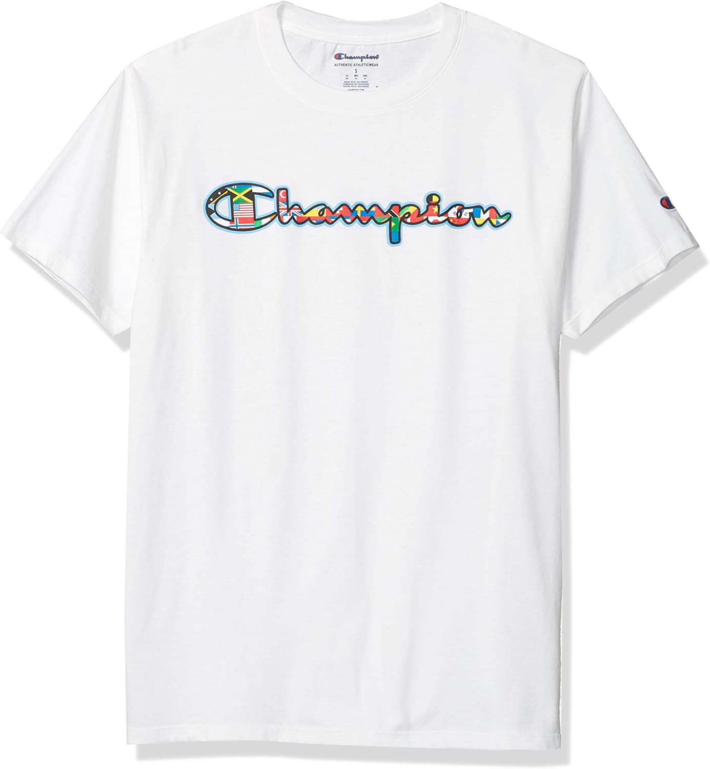 Champion Mens Classic Graphic Tee T-Shirt