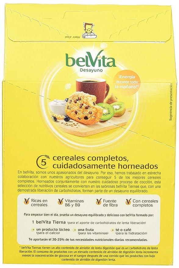 Fontaneda Galletas Belvita Tiernas Chocolate , Caja 250 gr: Amazon ...